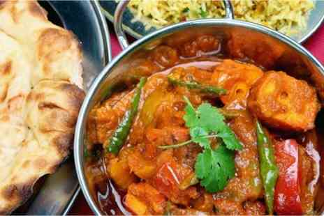 Laveeza Indian Cuisine - Two Course Indian Meal For Two With Side to Share - Save 68%