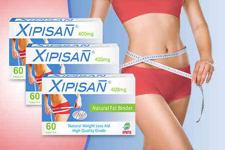Xipisan - Three Xipisan Fat Binder Capsules - Save 77%