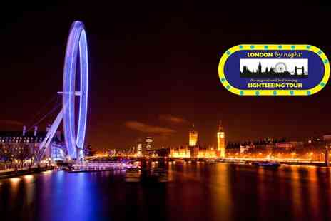 Go Ahead Tours - Two London by Night bus tour adult tickets - Save 57%