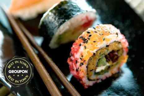 Hilton International Hotel - Sushi Platter For Two With Wine - Save 62%
