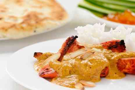 Cafe Sekander - Two Course Indian Meal With Dessert or Coffee For Two - Save 57%