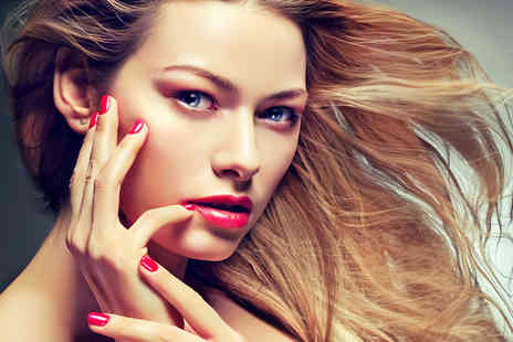 Glamor Hair & Beauty - Half head of highlights or a full head of colour plus a cut & blow dry - Save 60%
