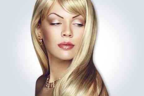 Glamorous Hair - Full head highlights or T bar highlights plus a cut blow dry and conditioning treatment - Save 74%