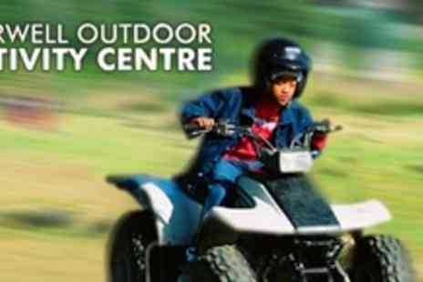 Marwell Activity Centre - Junior Group Quad Biking Session For Two - Save 61%
