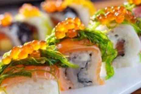 Sakushi - Eight Plates of Sushi Between Two - Save 61%