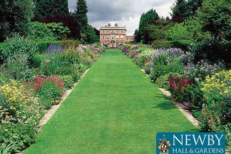 Newby Hall & Gardens - Entry for Two Adults - Save 54%
