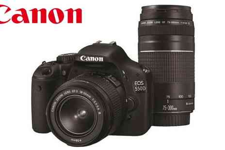 Ask Electronics - Canon EOS 550D Digital SLR - Save 30%