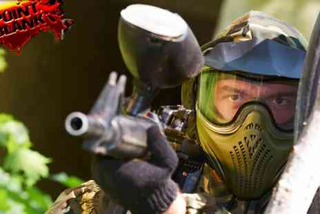 Point Blank - VIP Package Paintballing Day - Save 86%
