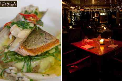 Mosaica - Exquisite 7 Course Taster Dining - Save 63%