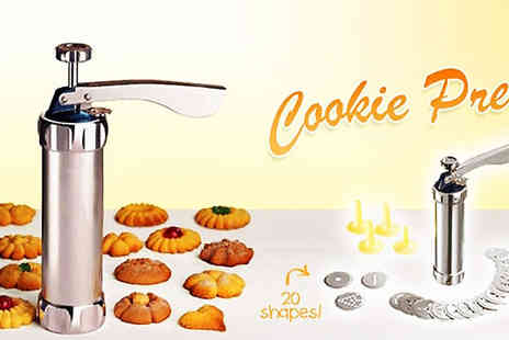 Pearl and Hall Direct - Create delicious, European style cookies with this amazing Cookie Press Set - Save 20%