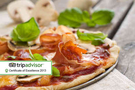 Bar Remo - Pizza meal for 2 including a glass of wine - Save 54%