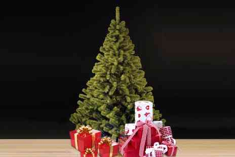 Edco - 210cm artificial Christmas tree - Save 45%