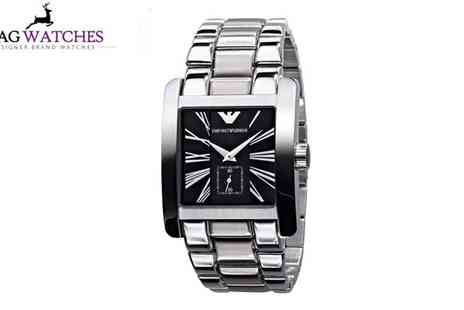 Stag Watches - Emporio Armani Watch - Save 51%