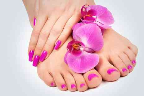 Cindrella Beauty Care - OPI manicure and pedicure - Save 63%
