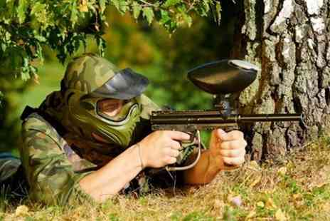 Allout Adventures - Paintball With Lunch For Five - Save 91%