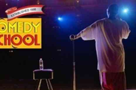 The Comedy School - Half Day Stand Up Comedy Course With Refreshments - Save 61%