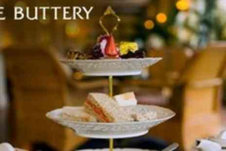 The Buttery - Luxury Afternoon Tea For Two - Save 57%