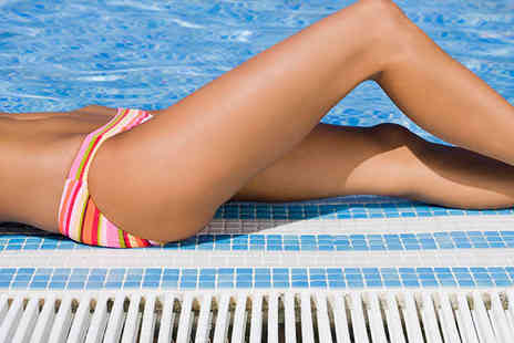 Sin Waxing - Choice of Brazilian or Hollywood Hot Wax with Full Leg Strip Wax - Save 62%