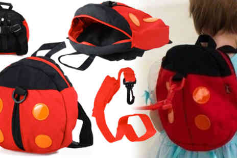RedHotDealz - Ladybird Backback Harness - Save 65%