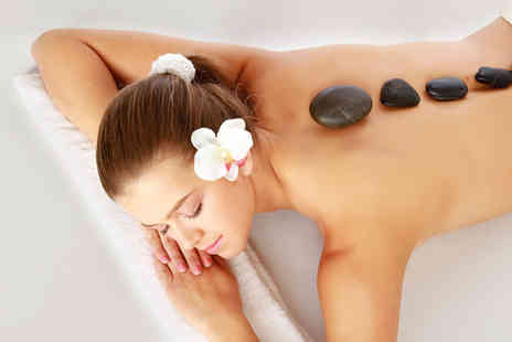 Selinas - Hot stone back massage Indian head massage manicure & pedicure - Save 70%