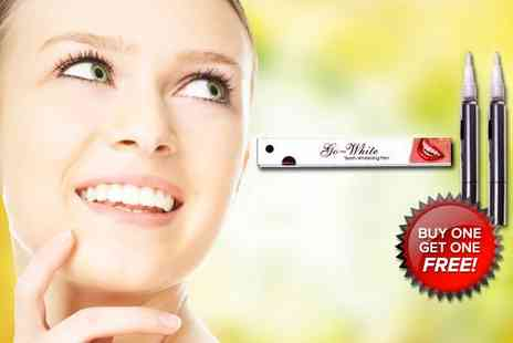 Britbeautyshop - White Teeth Whitening Pen - Save 91%