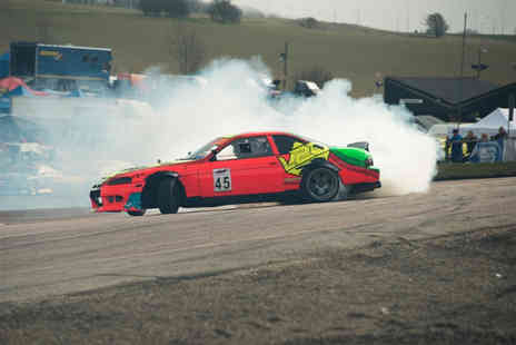 Slide School Drift Academy - Half-day introduction to car drifting experience - Save 43%