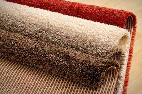 The Rug Shop - Solid Strand Shaggy Rug - Save 64%