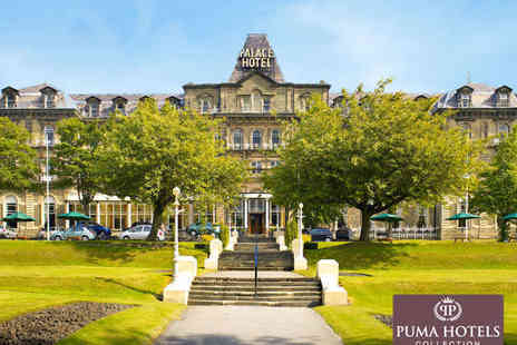The Palace Hotel Buxton - Luxury Spa Pamper Day with Choice of Treatment, Full Use of Facilities, Light Lunch and Glass of Sparking Wine for One - Save 50%