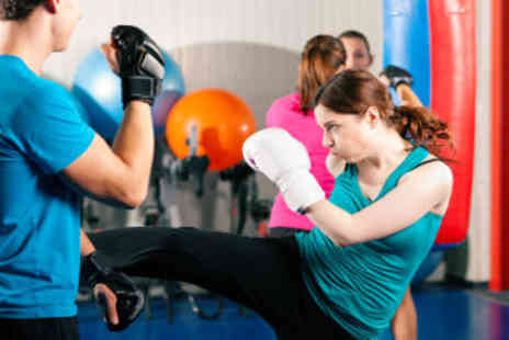 Fighting Fit NI - Ladies only kickboxing classes - Save 68%