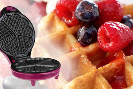 Onevolution - Sing that waffle tune with the Gourmet Gadgetry Waffle Maker - Save 57%