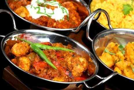 Revivals Indian Restaurant - Two Course Meal With Rice for Two  - Save 58%