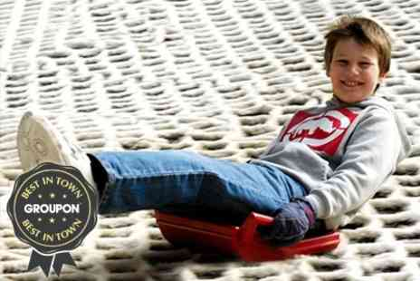 Mendip Snowsport - Tobogganing Annual Pass With Food on First Visit - Save 63%