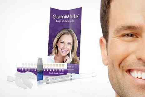 GlamWhite - Home Teeth Whitening Kit - Save 72%