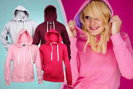 16 Sixty - Stylish unisex hoodie in a choice of 23 colours - Save 68%