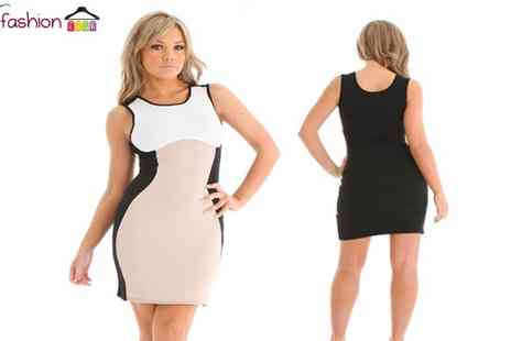 D Fashion - Sexy Cocktail Midi Pencil Dress - Save 28%