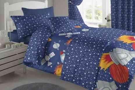 Textiles Direct - Kids Four or Five Piece Bedding Set - Save 51%