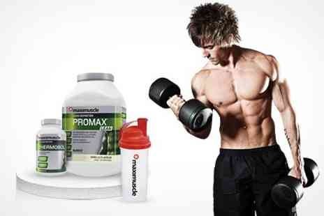 MaxiShop - Maximuscle 1.2kg Promax Lean, 30 Thermobol Tablets, and Shaker- Save 50%