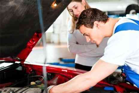 50 Point Car Service - MOT Test or 50 Point Car Service - Save 71%