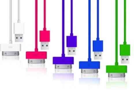 UKCJS - 3 Metre iPhone Cable  Four Colours To Choose - Save 70%