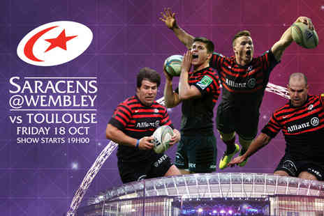 Saracens - Child's ticket to see Saracens vs. Toulouse in the Heineken Cup - Save 50%