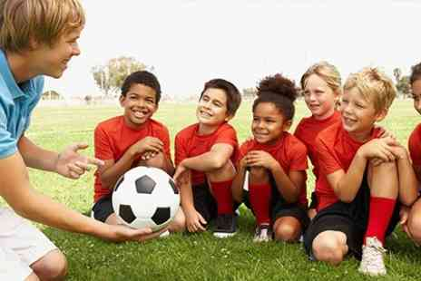 Riverside Sports - Kids Football Party With Food - Save 56%