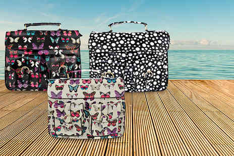 iKRUSH - Stylish satchel in a range of funky designs - Save 61%