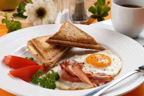 Sefton Meadows Garden Centre - Full English Breakfast For Two - Save 50%