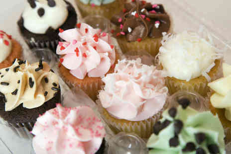 Curly Sues Cups N Cakes - 12 cupcakes in a choice of flavours - Save 50%