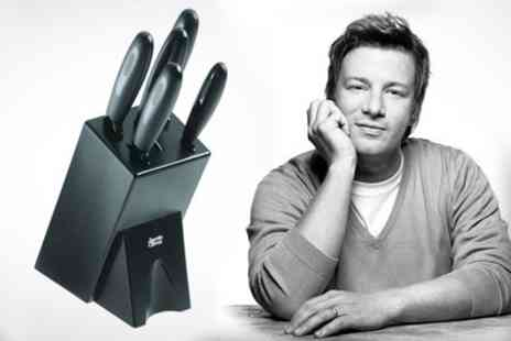 Dynergy - Jamie Oliver Six Piece Knife Set - Save 50%