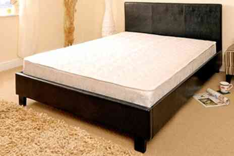 Sleep Softly - Manhattan Bed Frame and Mattress Set - Save 66%