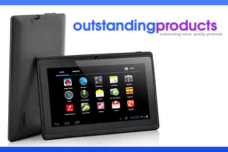 Outstanding Products - 7 Inch Black Android Allwinner Tablet - Save 45%