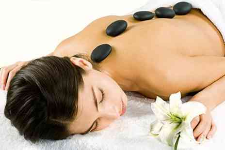 Sophie Sanctuary - Aromatherapy Hot Stone Massage Plus Facial - Save 65%