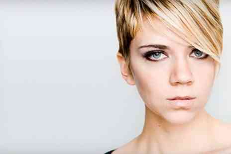 Hair Laser & Beauty - Highlights With Cut and Hot Oil Treatment - Save 47%