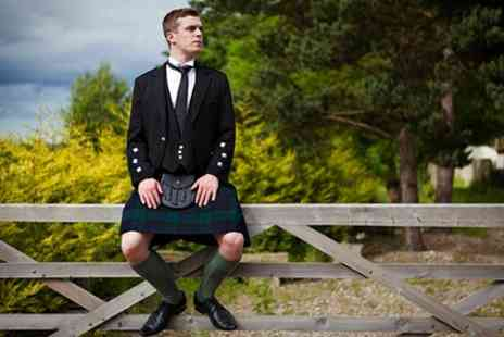 Panache - Five Day Kilt Hire - Save 55%
